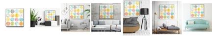 """Giant Art 30"""" x 30"""" Pattern Pop II Art Block Framed Canvas"""