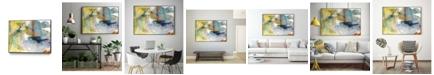 "Giant Art 20"" x 16"" Deviation I Art Block Framed Canvas"