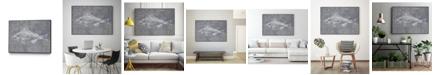 "Giant Art 40"" x 30"" Like a Stone I Art Block Framed Canvas"