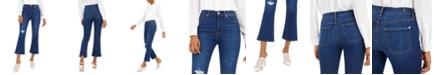 7 For All Mankind High-Waist Slim-Kick Jeans
