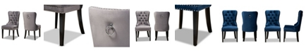 Furniture Furniture Remy Transitional 2 Piece Dining Chair Set with Seat