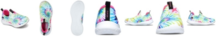 Skechers Big Girls Stretch Flex - Groovin Vibes Slip-on Sporty Casual Sneakers from Finish Line