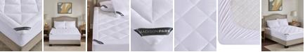 Madison Park 525 Thread Count Queen Cotton Rich Down Alternative Mattress Pad
