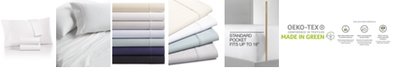 Charter Club Sleep Luxe 100% Egyptian Cotton 700 Thread Count 4 Pc. Sheet Set, Queen, Created for Macy's