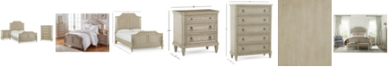 Furniture Chelsea Court Bedroom Furniture, 3-Pc. Set (King Bed, Nightstand & Chest), Created for Macy's