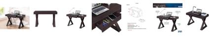 RTA Products Techni Mobili Trendy Writing Desk