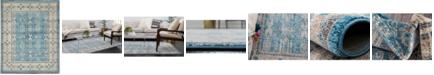 Bridgeport Home Bellmere Bel1 Light Blue 8' x 10' Area Rug