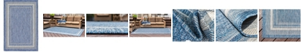 Bridgeport Home Pashio Pas5 Blue 4' x 6' Area Rug