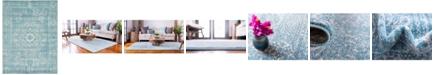 Bridgeport Home Wisdom Wis3 Light Blue 9' x 12' Area Rug