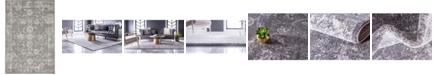 Bridgeport Home Wisdom Wis6 Dark Gray 4' x 6' Area Rug