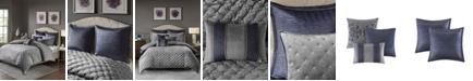 Madison Park Signature Sophisticate 8-Pc. Velvet Comforter Sets