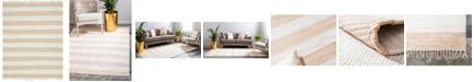 Bridgeport Home Jari Jar5 Beige 8' x 10' Area Rug