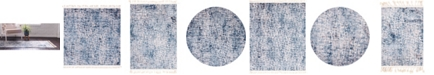 Bridgeport Home Levia Lev3 Blue Area Rug Collection