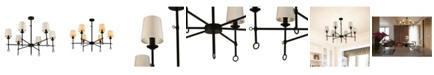 Cenports Canyon Home 6 Light Chandelier