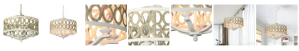 Cenports Canyon Home 8 Light Drum Chandelier