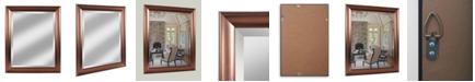 "Reveal Frame & Decor Alpine Deco Bronze 28"" x 34"" Beveled Wall Mirror"