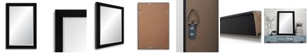 "Reveal Frame & Decor Reveal Midnight Black Beveled Wall Mirror - 27"" x 40.5"""