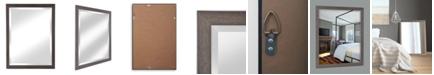 "Reveal Frame & Decor Alpine Harbor Grey 27"" x 33"" Beveled Wall Mirror"