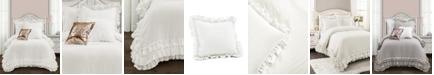 Lush Decor Ella Ruffle Lace 2-Piece Twin XL Comforter Set