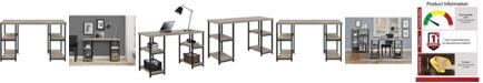 Ameriwood Home Elmwood Double Pedestal Desk