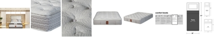 "Paramount Joma Angus 15"" Plush Euro Pillow Top Mattress Set- Twin"