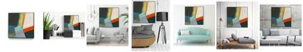 "Giant Art 20"" x 20"" Solidity II Art Block Framed Canvas"