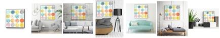 "Giant Art 20"" x 20"" Pattern Pop I Art Block Framed Canvas"