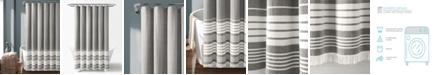 """Lush Decor Nantucket Yarn Dyed Cotton 72"""" x 72"""" Shower Curtain"""