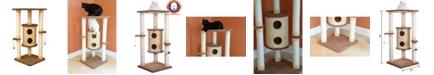 Armarkat Multi-Level Cat Tower, Cat Scratching Furniture