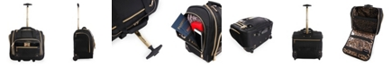 bebe Evans Under The Seat Rolling Carry-On Tote