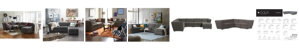 Furniture CLOSEOUT! Roxanne Fabric Modular Living Room Furniture Collection, Created for Macy's