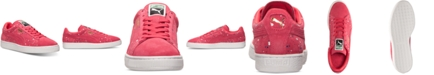 Puma Men's Suede Classic Splatter Casual Sneakers from Finish Line
