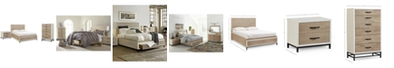 Furniture Avery Storage Platform Bedroom Furniture, 3-Pc. Set (King Platform Bed, Chest & Nightstand)