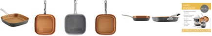 """Ayesha Curry Hard-Anodized 11.5"""" Grill Pan"""