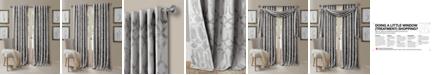 "Elrene Darla 52"" x 84"" Ironwork Blackout Rod Pocket/Back-Tab Curtain Panel"