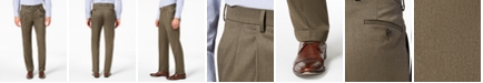 Lauren Ralph Lauren Men's Classic-Fit UltraFlex Stretch Micro-Twill Pleated Machine Washable Dress Pants