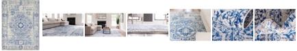 Bridgeport Home Wisdom Wis3 Ivory 9' x 12' Area Rug