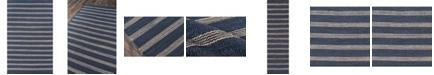 "Novogratz Montauk Mtk-1 Navy 2'3"" x 10' Area Rug"