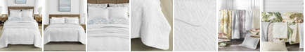 Tommy Bahama Home Tommy Bahama Solid White Reversible 3-Piece Full/Queen Quilt Set