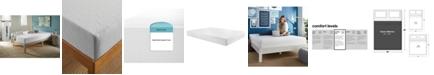 """Corsicana SleepInc 8"""" Support and Comfort Medium Firm Memory Foam Mattress- Queen"""