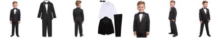 Nautica 4-Piece Tuxedo Suit, Shirt & Bowtie, Little Boys