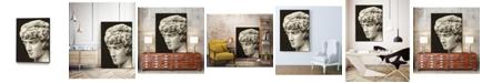 "Giant Art 40"" x 30"" Roman Relic I Art Block Framed Canvas"