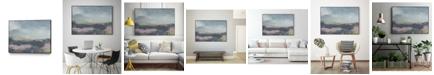 "Giant Art 32"" x 24"" Pretty Horizon I Art Block Framed Canvas"