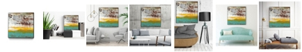 "Giant Art 30"" x 30"" Arid I Art Block Framed Canvas"