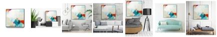 """Giant Art 30"""" x 30"""" Atmospheric IV Art Block Framed Canvas"""