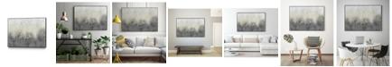 """Giant Art 40"""" x 30"""" Glitter Swirl I Art Block Framed Canvas"""