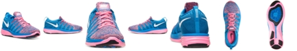 Nike Women's Flyknit Lunar 2 Running Sneakers from Finish Line