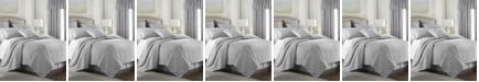Colcha Linens Cambric Gray Comforter-King/California King