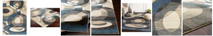 """Surya Riley RLY-5107 Denim 5'3"""" x 7'6"""" Area Rug"""