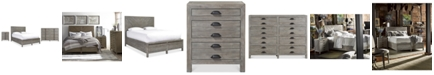 Furniture Broadstone Storage Bedroom Furniture, 3-Pc. Set (King Bed, Dresser & Nightstand)